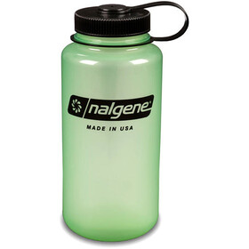 Nalgene Wide Mouth Bottles 1l glow green/black